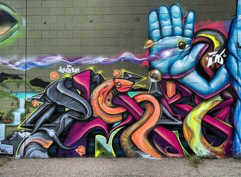 Graffiti Graffhunter Graffitiporn Streetart Denverstreetart Denvergraffiti Pher01 Mpek @mpek @pher01