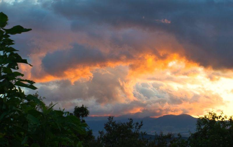 Sunset, Bogotá