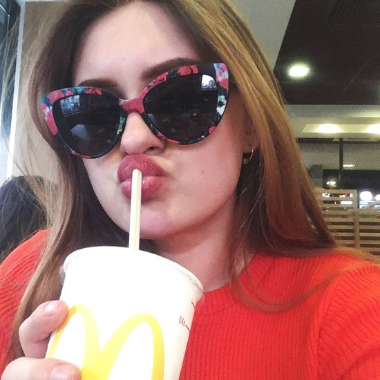 Такая я вот пуська One Person Glasses Sunglasses Food And Drink Fashion Lifestyles Headshot Front View Women Real People Drink Straw Food Leisure Activity Young Women Portrait Young Adult Drinking Drinking Straw Refreshment