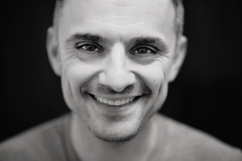 Gary Vaynerchuk Looking At Camera Portrait One Person Front View Smiling Headshot Celebrities