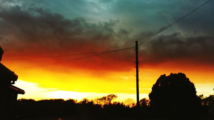 Sunset in pickering