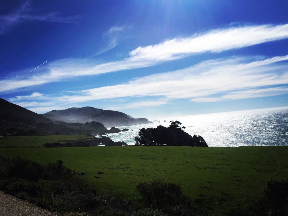Highway 1 - southbound - California Highway 1 California West Coast Best Coast