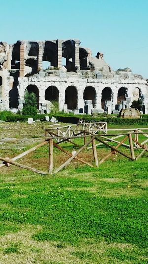Over 2000 years has past, this sadium hosted gladiator battles. Capuano , Italy! Ancient City