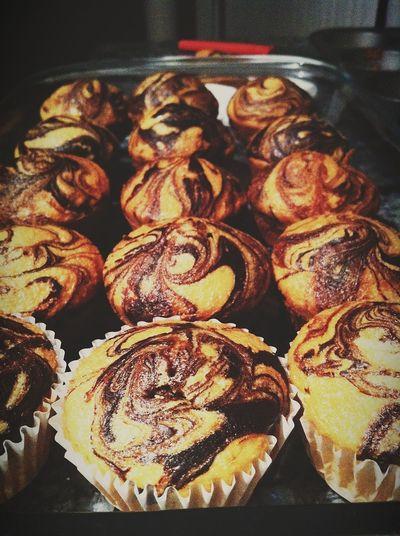Marbel Cupcakes