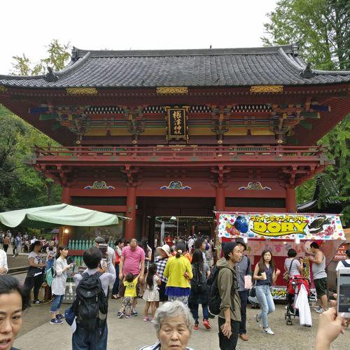 Nezu Shrine. Architecture Bunkyo-ku Nezu Shrine Non-western Script Place Of Worship Tokyo,Japan Tourism Tourist Travel Destinations