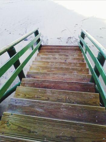 Stairs Beach Zambujeira Do Mar Portugal
