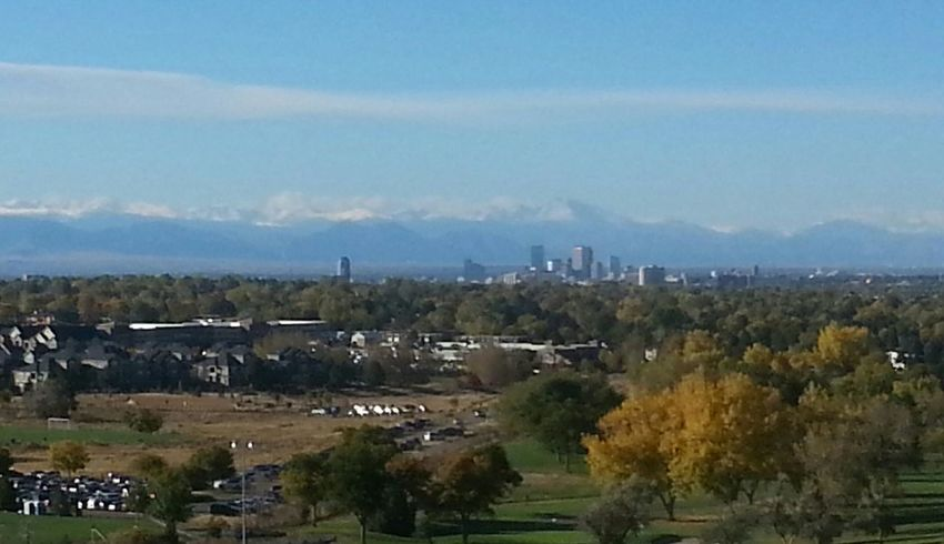 My Best Photo 2015 Denver, Co skyline and the beautiful Rocky Mountains