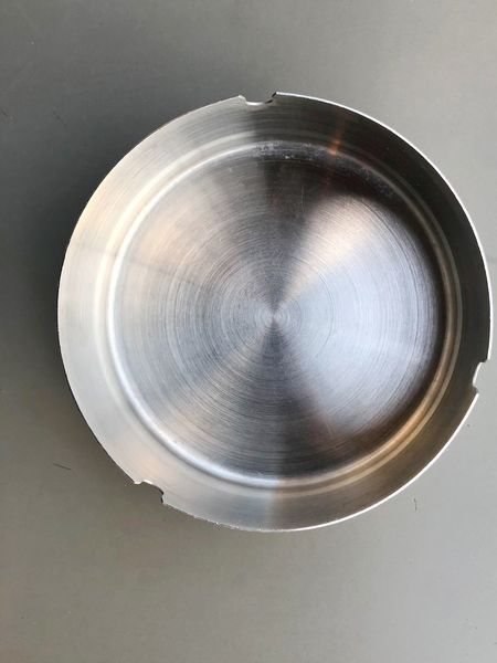 Objects Colorful Silver  Ashtrays Close-up Directly Above No People Indoors  Geometric Shape Circle Shape Food And Drink Table Household Equipment High Angle View Design Silver Colored