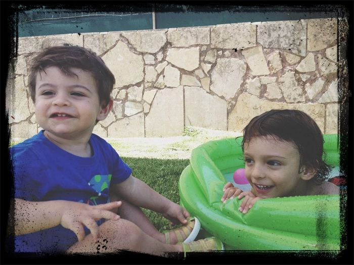 Santi & Lourenço Boavida Pool Kids