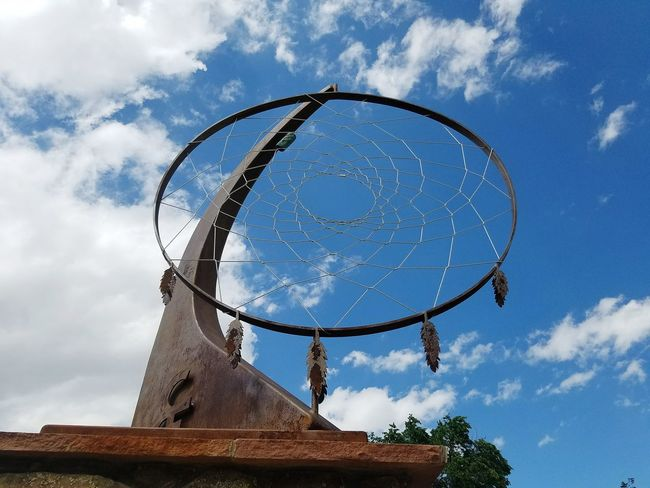 Day No People Architecture Low Angle View Sky Dream Catcher