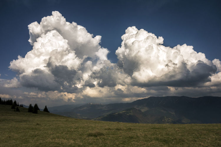 landscape Slovakia Velka Fatra Beauty In Nature Cloud - Sky Day Environment Field Grass Idyllic Land Landscape Mountain Nature No People Non-urban Scene Outdoors Plant Scenics - Nature Sky Tranquil Scene Tranquility