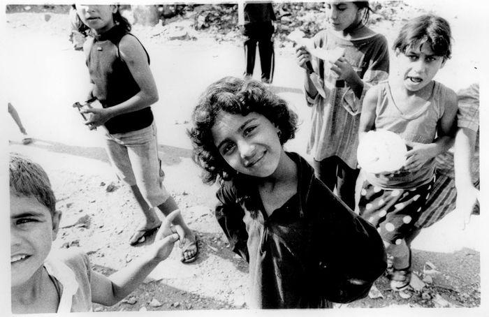 Palestinian refugee children Beirut Steve Merrick Photojournalism Stevesevilempire News Photgraphy Film Photography Blackandwhite Ilford HP5 Plus Childhood Refugee Beirut Lebanon Beirut Humanity...  Refugee Camp