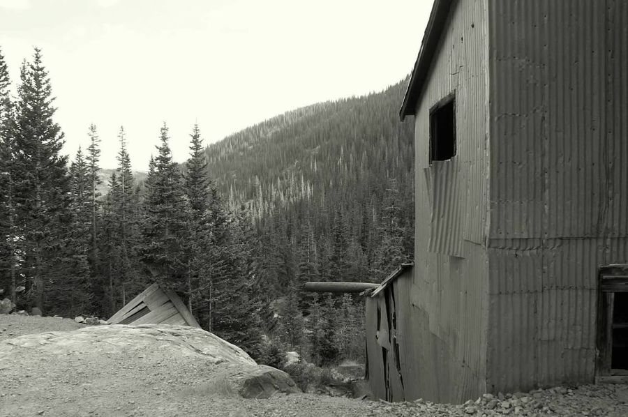 Built Structure Mining Heritage Mining History Of America Mining Abandoned