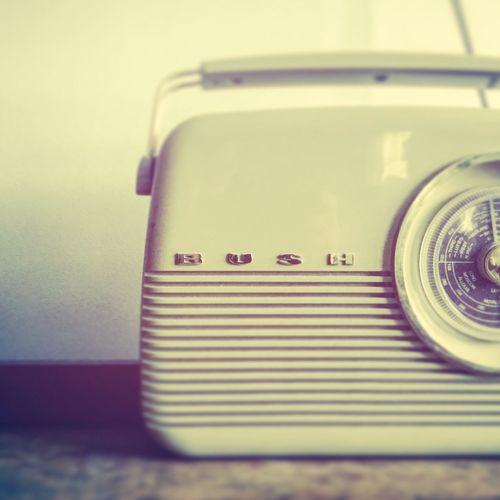 Close-up Retro Radio