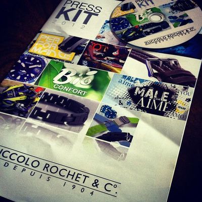 New Rochet Press Kit arrived today..
