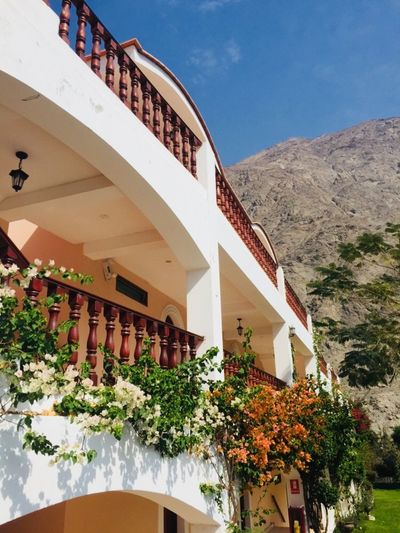 Peru Family Lunahuana Architecture Built Structure Plant Building Exterior Nature Building Day Flowering Plant Balcony Mountain