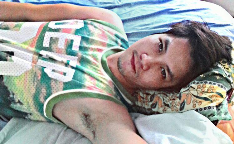 Armpits Selfie At MY BED Gay Love