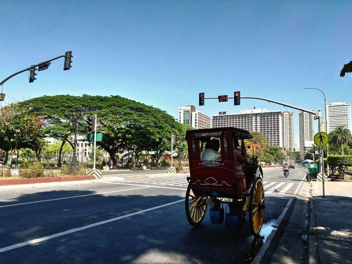 24 Second Shot Clock Philippines History Manila Kalesa Rizal Road Road City Street Land Vehicle Sky