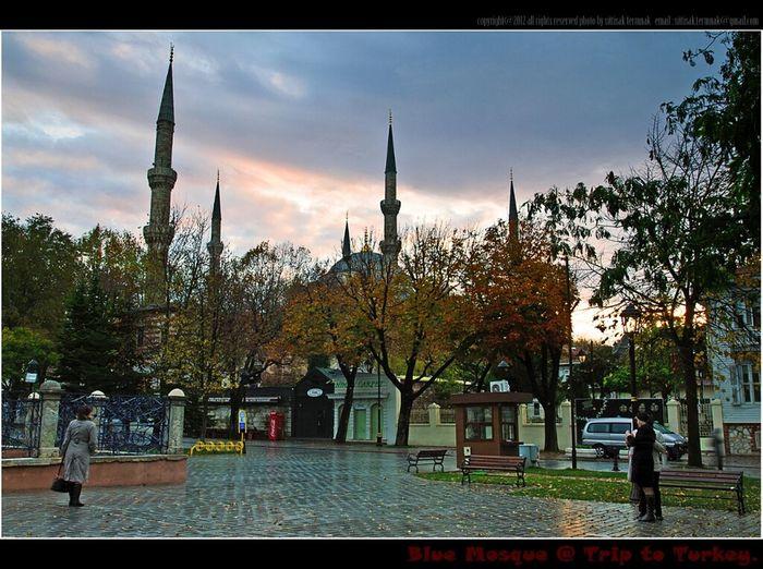 Morning light after rain @ Blue Mosque in Istanbul Turkey. Sunset Landscape Turkey Thailand_allshots Traveling