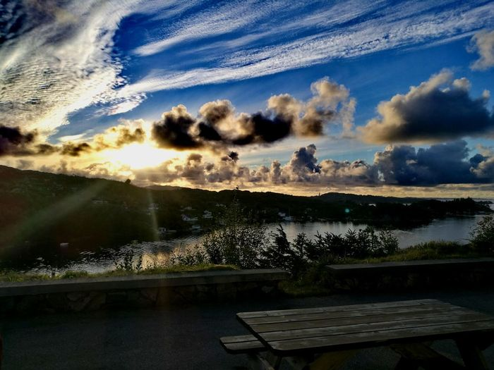 Sunset #sun #clouds #skylovers #sky #nature #beautifulinnature #naturalbeauty #photography #landscape First Eyeem Photo