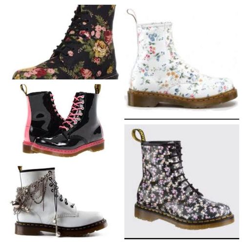 These Doc Martens Are Really Cute !