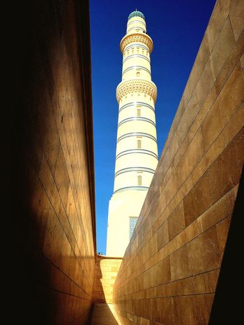 Arabic Architecture Mosques Of The World Shadows & Lights Stunning Design Blue Sky Cultural Icon Visit Oman