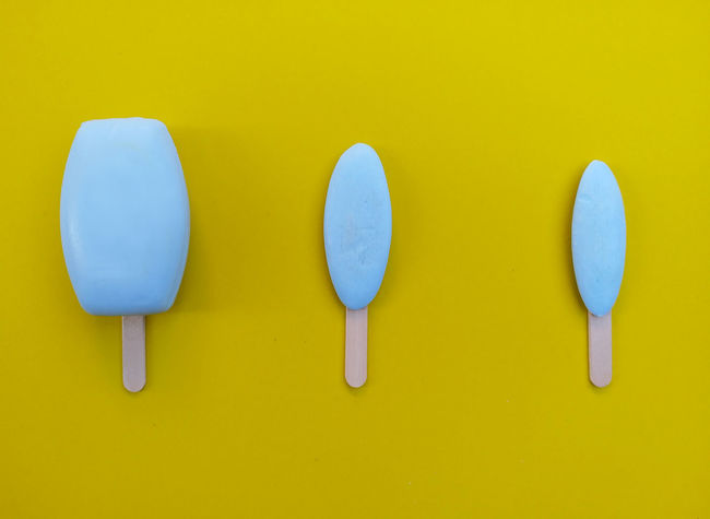Soap Used Soaps Soap Yellow Background Clean Old New Smartphone Photography ReusedNo People Studio Shot Art Ice Cream Bar Blue