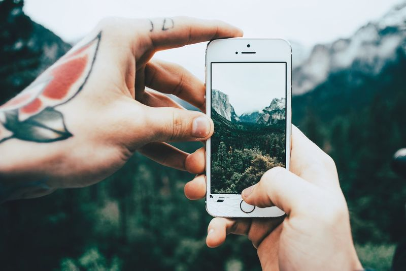 Capturing memories Yosemite National Park Through The Phone Travel