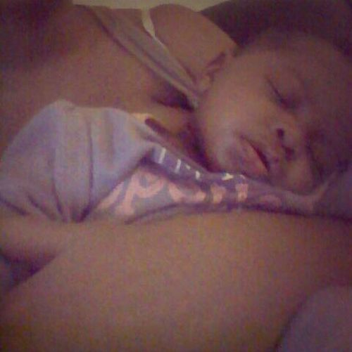 She was tired !!!! .