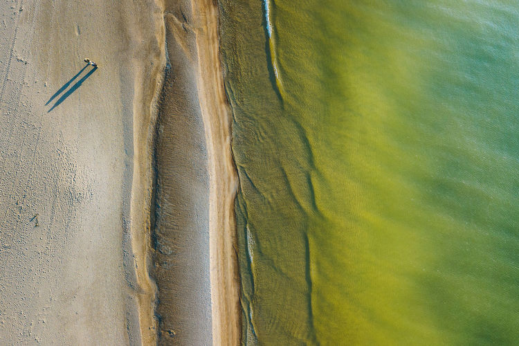 Baltic sea beach Aerial Shot Baltic Sea Drone  Lietuva Backgrounds Beach Beauty In Nature Close-up Day Full Frame Landscape Mavic Mavic Pro Nature No People Outdoors People Sea Shadows Top Down View Waves Lost In The Landscape