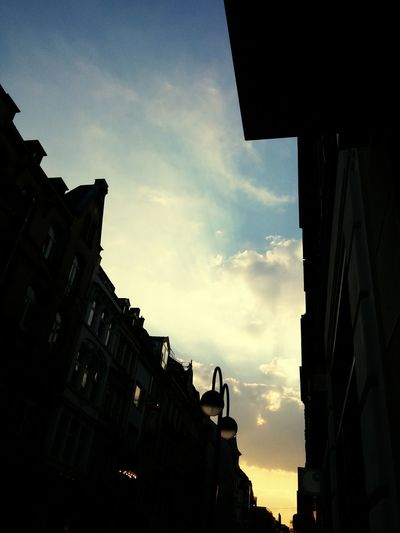 Architecture Sky City Built Structure Sunset Majestic Blue Travel History No People Business Finance And Industry Outdoors Day