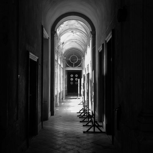 Arch Archway Corridor Diminishing Perspective History Indoors  Long The Way Forward