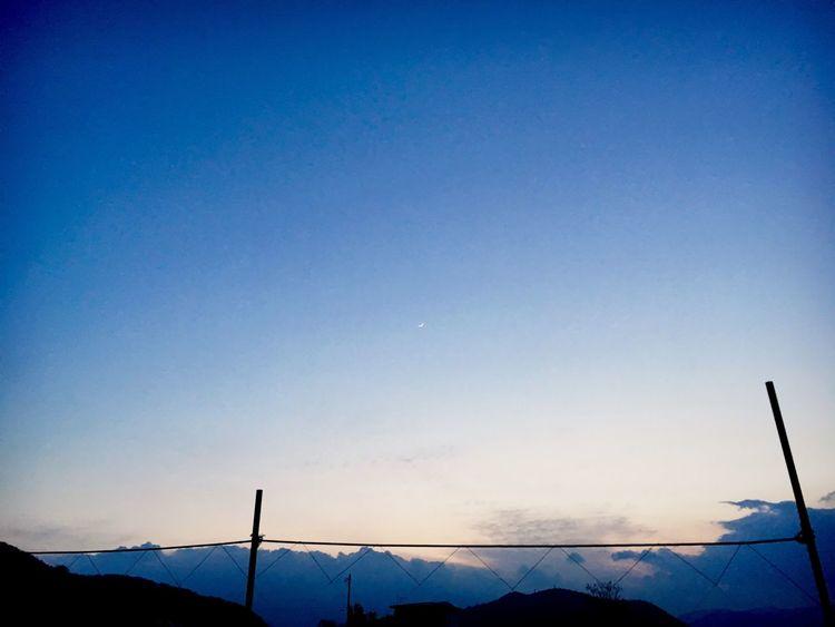 いつかの空 月 Moon