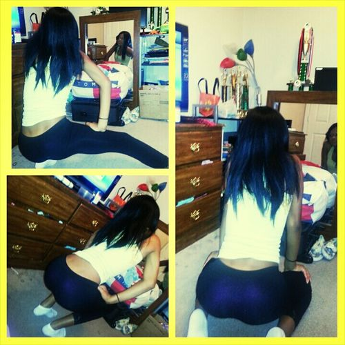 Late Night Dance Session ... My Back Dimples Thoo