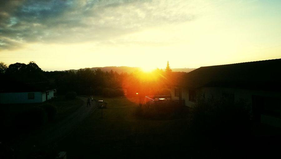 Letzter Abend Im Urlaub Sonnenuntergang Ichliebesie❤