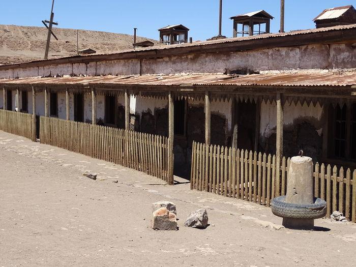 Ghost Town 1907 Atacama Desert Ghost Town Humberstone Matanza De La Santa Maria Saltpeter Tarapaca World Heritage Site By UNESCO