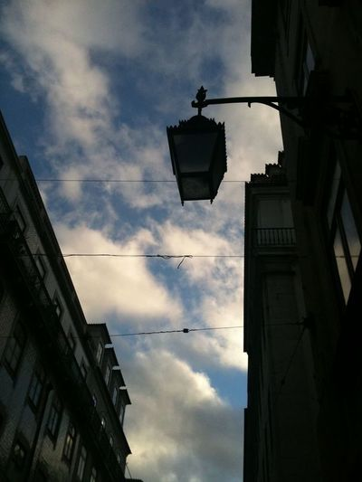 amazing Sky LisbonLight Wires Clouds