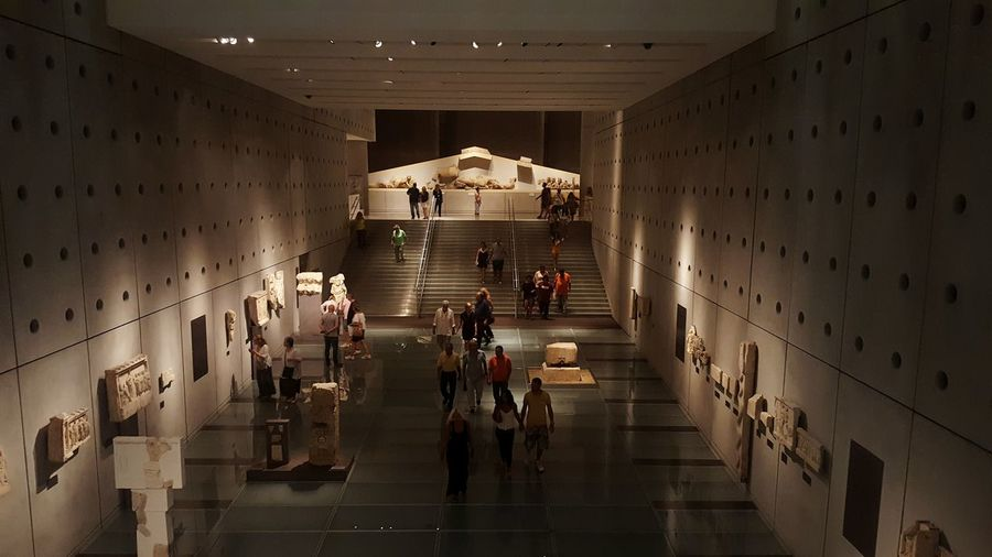 Museum Acropolis People Architecture Culture Cultural Momument Photographer People And Places A Bird's Eye View