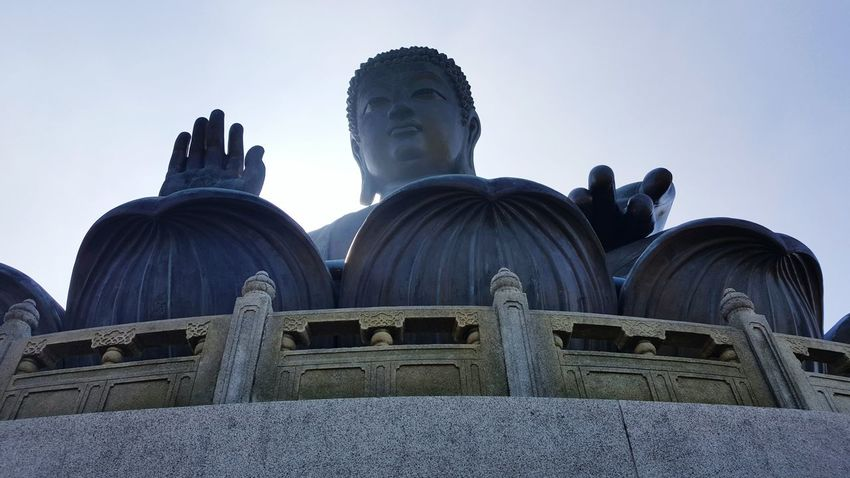 HongKong Big Buddha Tian Tan Buddha Tian Tan Buddha (Giant Buddha) 天壇大佛 Ngong Ping 360 Lantau Island Buddah Religious  Budism