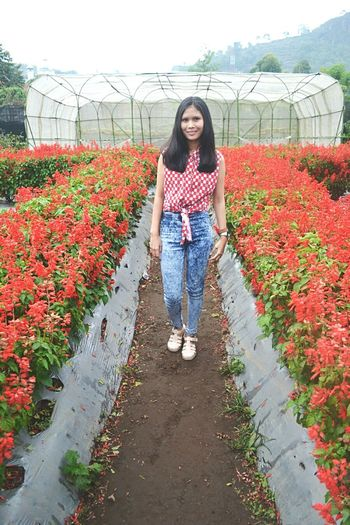 Tamanbunga Lembang INDONESIA Beautiful Day Beautiful Girl