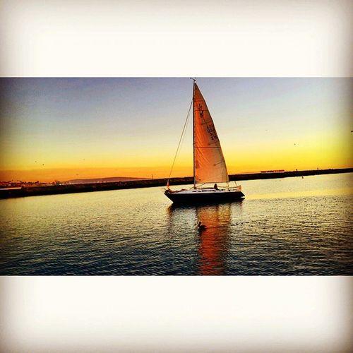 Sunset On Yacht Marinadelrey Marina Venice Santamonica Losangeles California CA Turke Turkishgram Istanbul Beşiktaşk Besiktasklovers