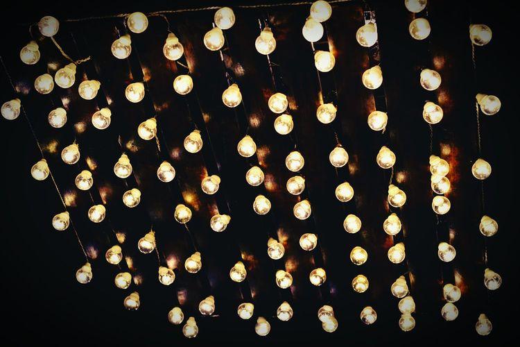 Lots of light bulbs Bulbs Lightbulb Roof Light Bulbs At Their Best Thousands Lights Lights Effects