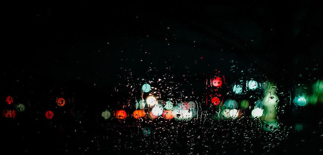 Night Wet Rain