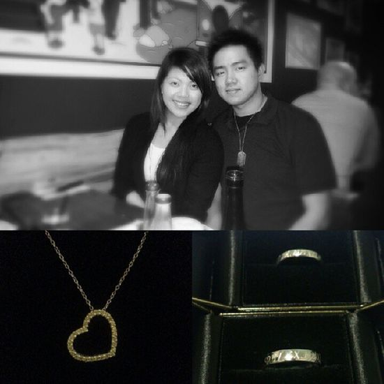 Late upload hehe ^_^ HappyAnniversary to the Loveofmylife BEB Darylcruz♥♥♥ 020912 yay loveyou 1year bestyear h12m couplering
