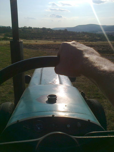 boring on tractor