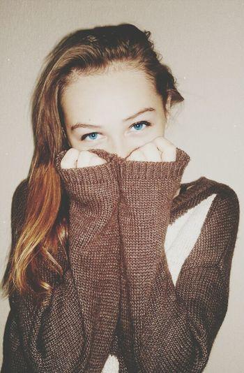 BlueEyes Model Portrait Girl