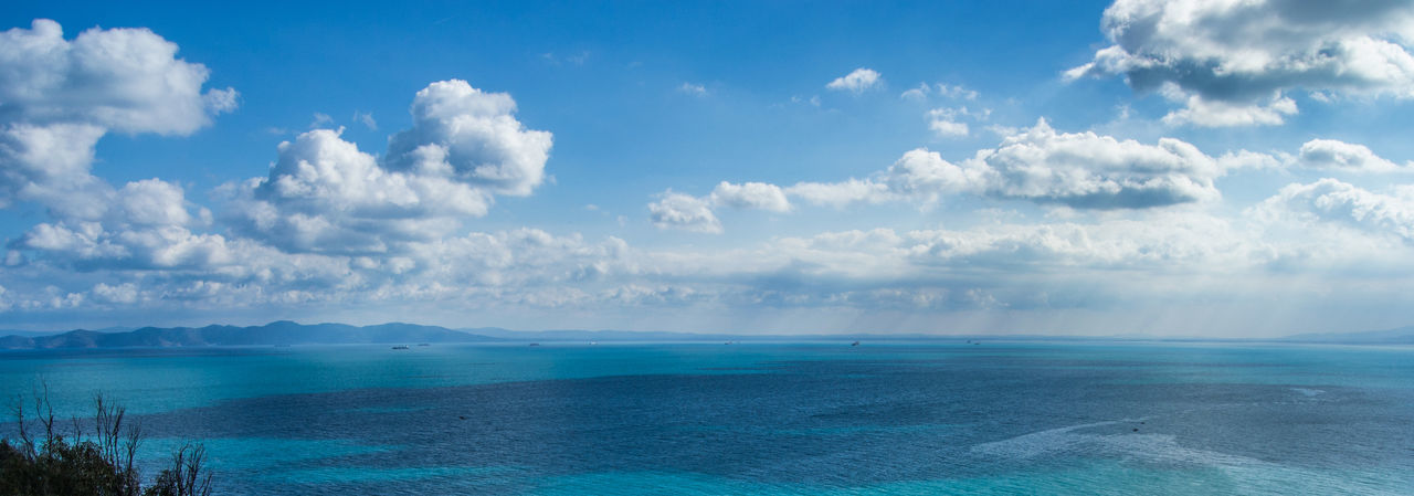 Mediterranean Sea Mediterranean  Mediterranean Sea Sidi Bou Said Tunis Tunisia Beauty In Nature Blue Cloud - Sky Day Horizon Over Water Idyllic Nature No People Outdoors Scenics Sea Sky Tranquil Scene Tranquility Tunisie Water