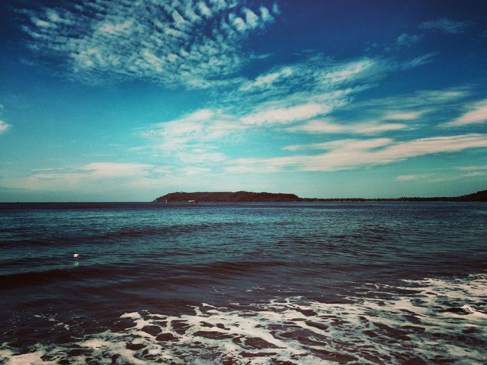 Sky Water Sea Cloud - Sky Scenics - Nature Beach Beauty In Nature Tranquility Land Tranquil Scene Horizon Horizon Over Water Nature No People Sand Day Idyllic Outdoors Non-urban Scene