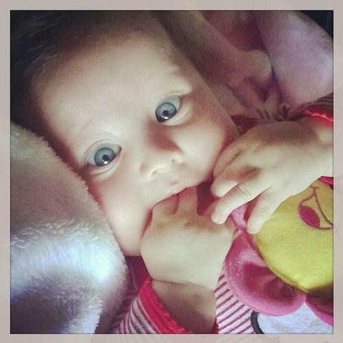 Bigeyes Green Beatifull Babygirl Gorgeous Happy Ilovemababygirl