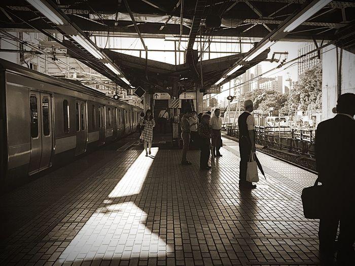 また 夏が来た…あづい😱💦✨ OpenEdit Public Transportation EyeEm Best Shots Beautiful Day Relaxing 中央線 御茶ノ水駅 外回り